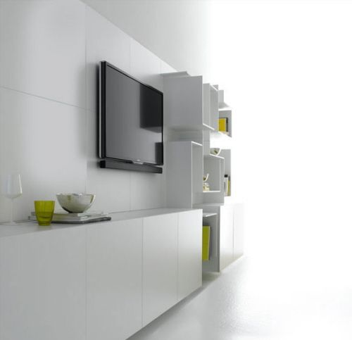 8 White Wall Units And Home Storage Shelving Ideas - Furniture
