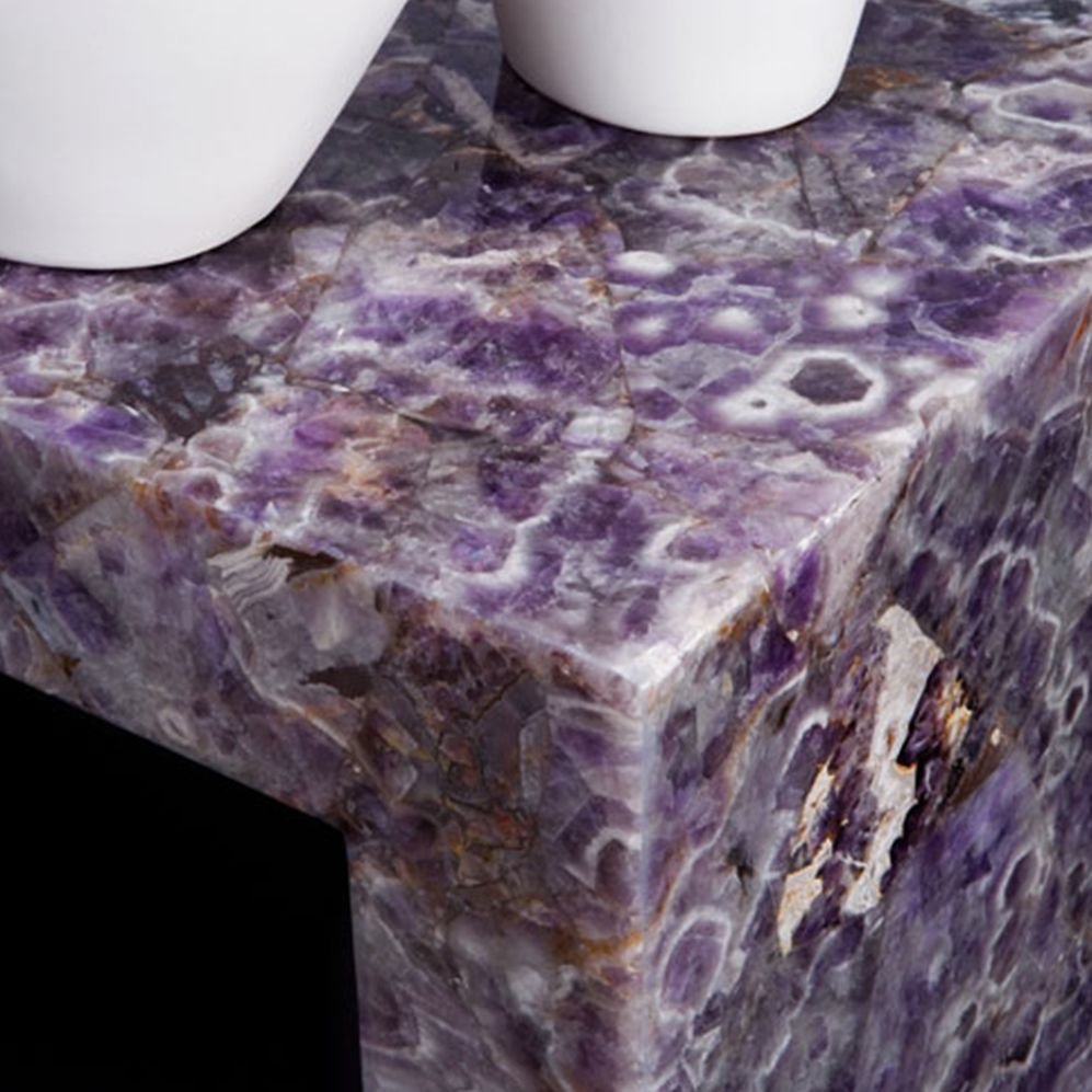 viola amethyst coffee table