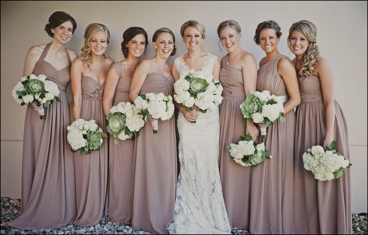 Taupe colored bridesmaid dresses dresses and gowns ideas taupe colored bridesmaid dresses ombrellifo Image collections