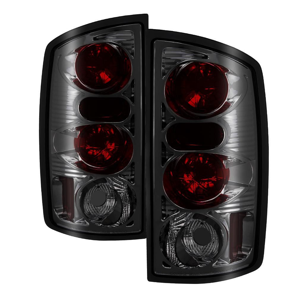 Spyder Auto Dodge Ram 02 06 1500 Ram 2500 3500 03 06 Euro Style Tail Lights Smoke 5002600 Tail Light Led Tail Lights Projector Headlights