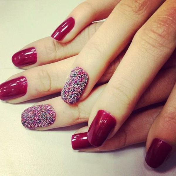Originelle Rote Fingernagel Fashion Nails Nails Ongles