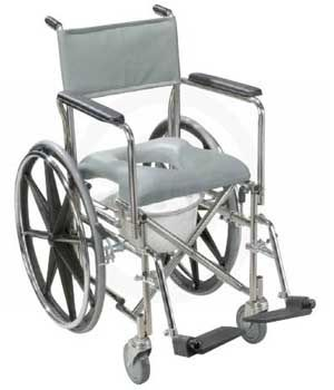 Stainless Steel Rehab Shower Commode Wheelchair Removable Full Arms 999 00 Free Shipping From Ucan Health Thi Shower Chair Commode Stainless Steel Frame