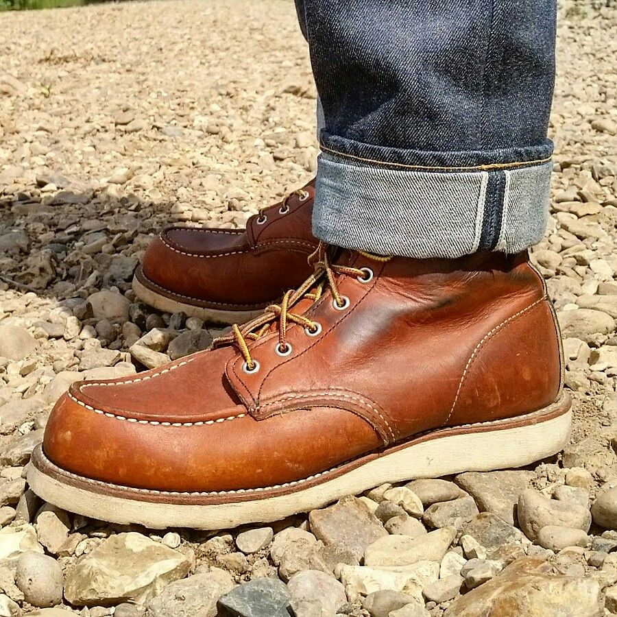 Botas Pinterest Redwing 875 zapatos Denim And Selvedge IwRY0T