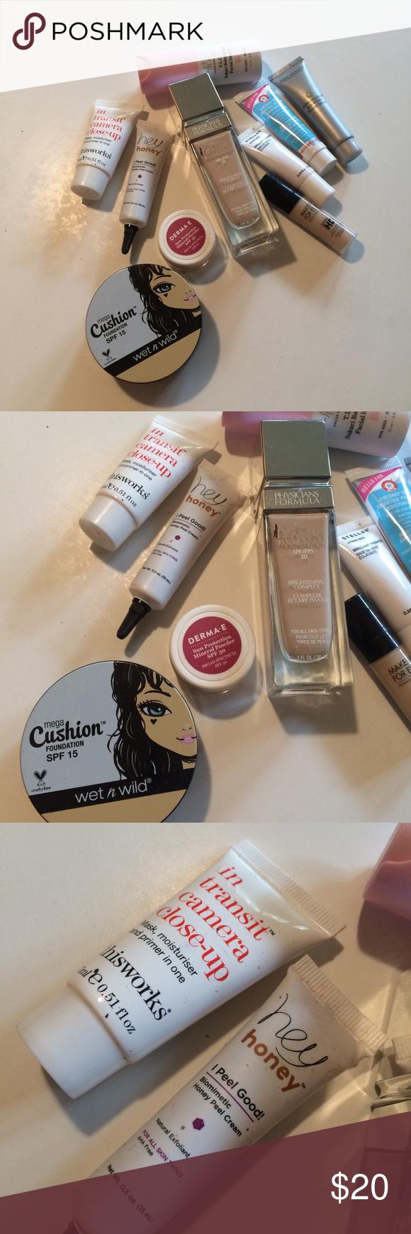 Skin Care Color Bundle Makeup Dermae Hey Honey Wet and