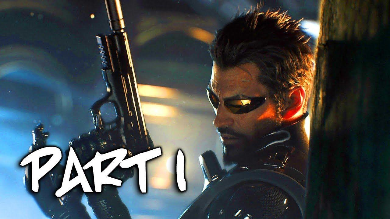 Deus Ex Mankind Divided Walkthrough Gameplay Part 1 Intro Prologue Intro Deus Ex Gameplay