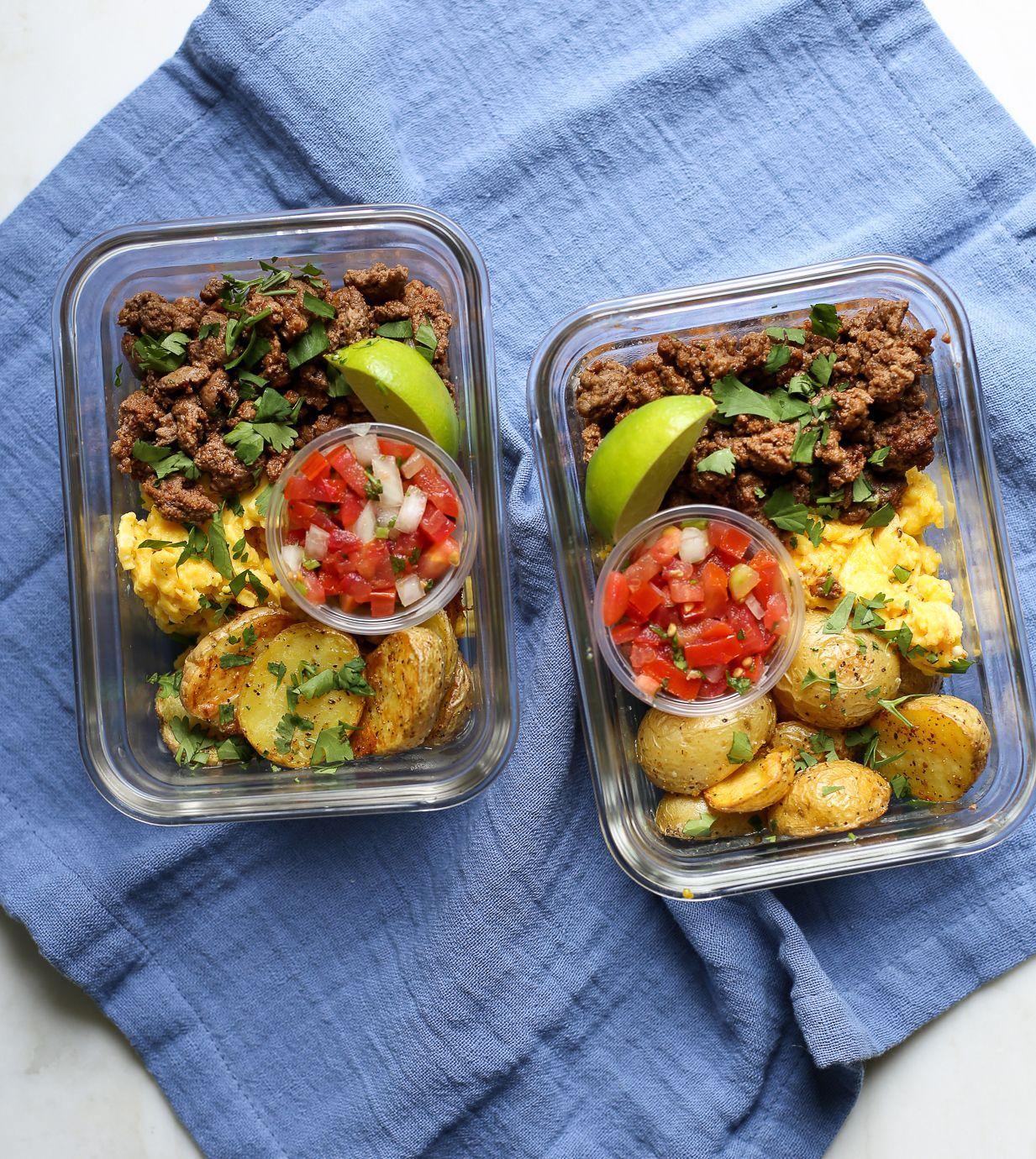 Sweet Potato Breakfast Tacos: NO SALSA // USE SWEET POTATOES // Meal Prep Breakfast Taco