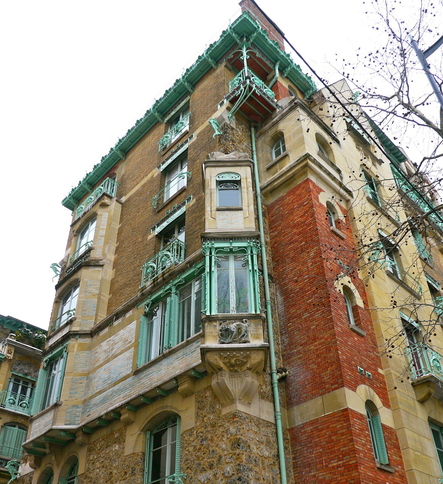 Paris, rue Jean de La Fontaine, Castel Béranger, Hector