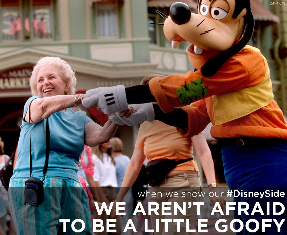 When we show our disneyside we arent afraid to be a little goofy when we show our disneyside we arent afraid to be a little goofy urtaz Image collections