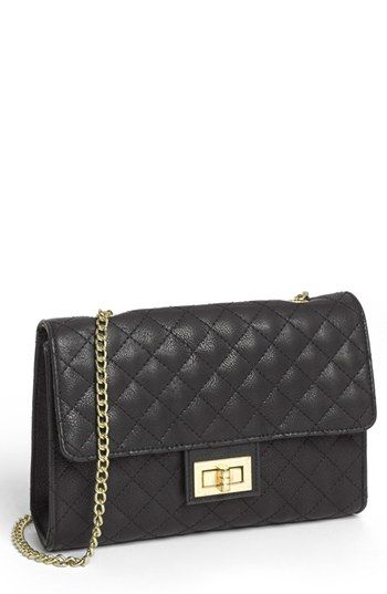 Lulu Quilted Crossbody Bag (Juniors) available at #Nordstrom | My ... : quilted crossbody bags - Adamdwight.com