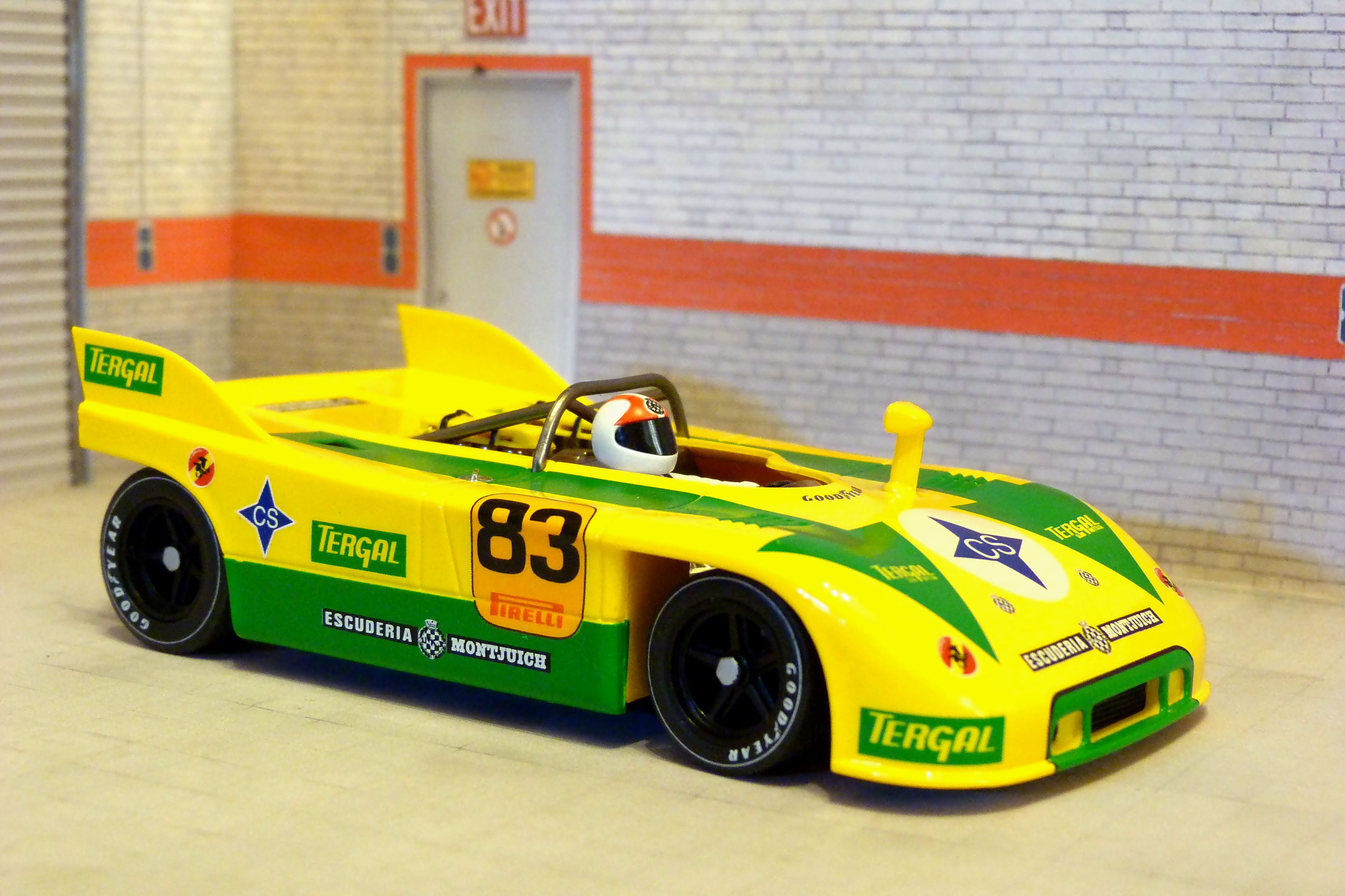 Fly Car Model C66. Porsche 908/3. Campeonato de Montaña