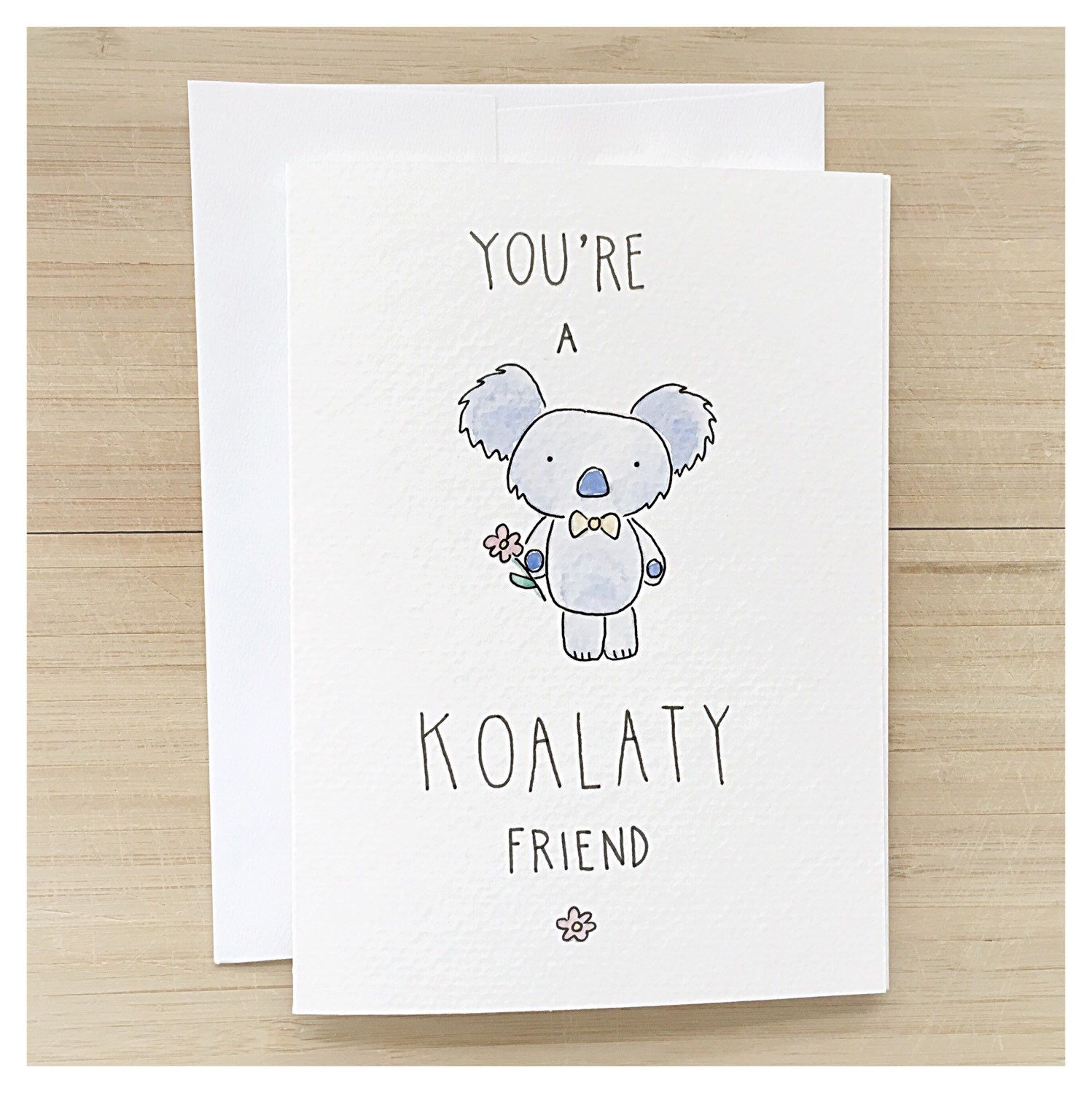KOALA CARD • koala • friendship card • funny friendship card
