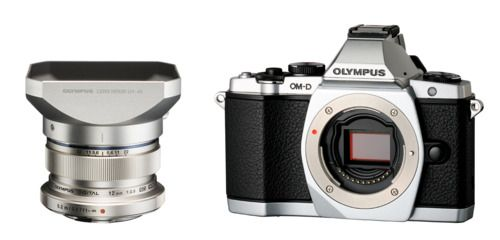 OMD EM5 (Silver), M.ZUIKO DIGITAL ED 12mm F2.0 & Lens