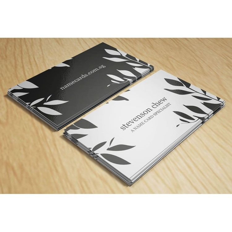 Express Name Cards - 1 Colour Black & White Instant Printing, Urgent ...