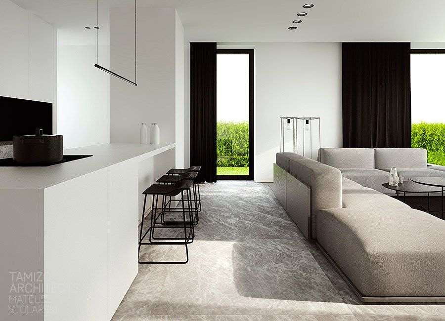 Deco 2 0 Black And White House 15 Home Interior Design Minimalism Interior Interior Design