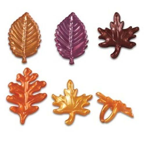Fall Leaves Harvest Cupcake Topper Rings - Set of 12 ** Check this awesome image : baking decorations