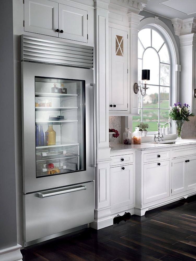 Is A Sub Zero Refrigerator Worth The Money Prices Reviews Ratings With Images Home Kitchens Glass Door Refrigerator Outdoor Kitchen Appliances