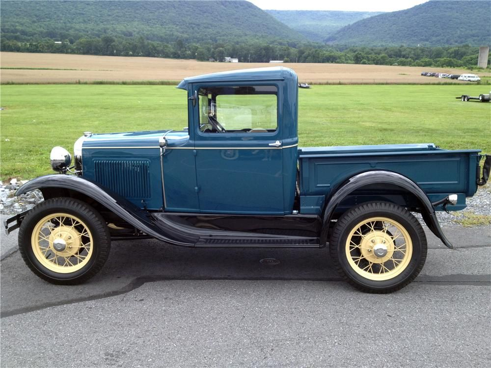 1931 ford model a closed cab pickup truck 1930 1931 ford model a pickups and ford model aa. Black Bedroom Furniture Sets. Home Design Ideas