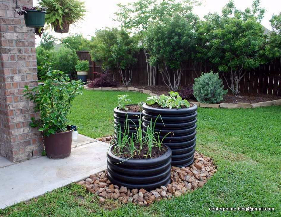 Sluice Or Culvert Pipe Landscaping Garden Landscaping