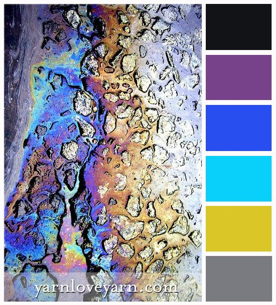 Oil Slick Palette | Yarn Love Color Palettes | Pinterest | Color Pallets,  Colour Pallette And Pallets Nice Design