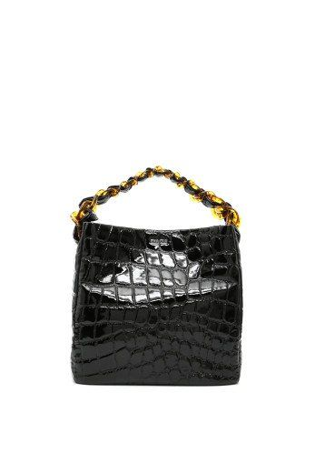 383ad2437642 MIU MIU Alligator Printed Patent Bag.  miumiu  bags  patent  hand bags   lining