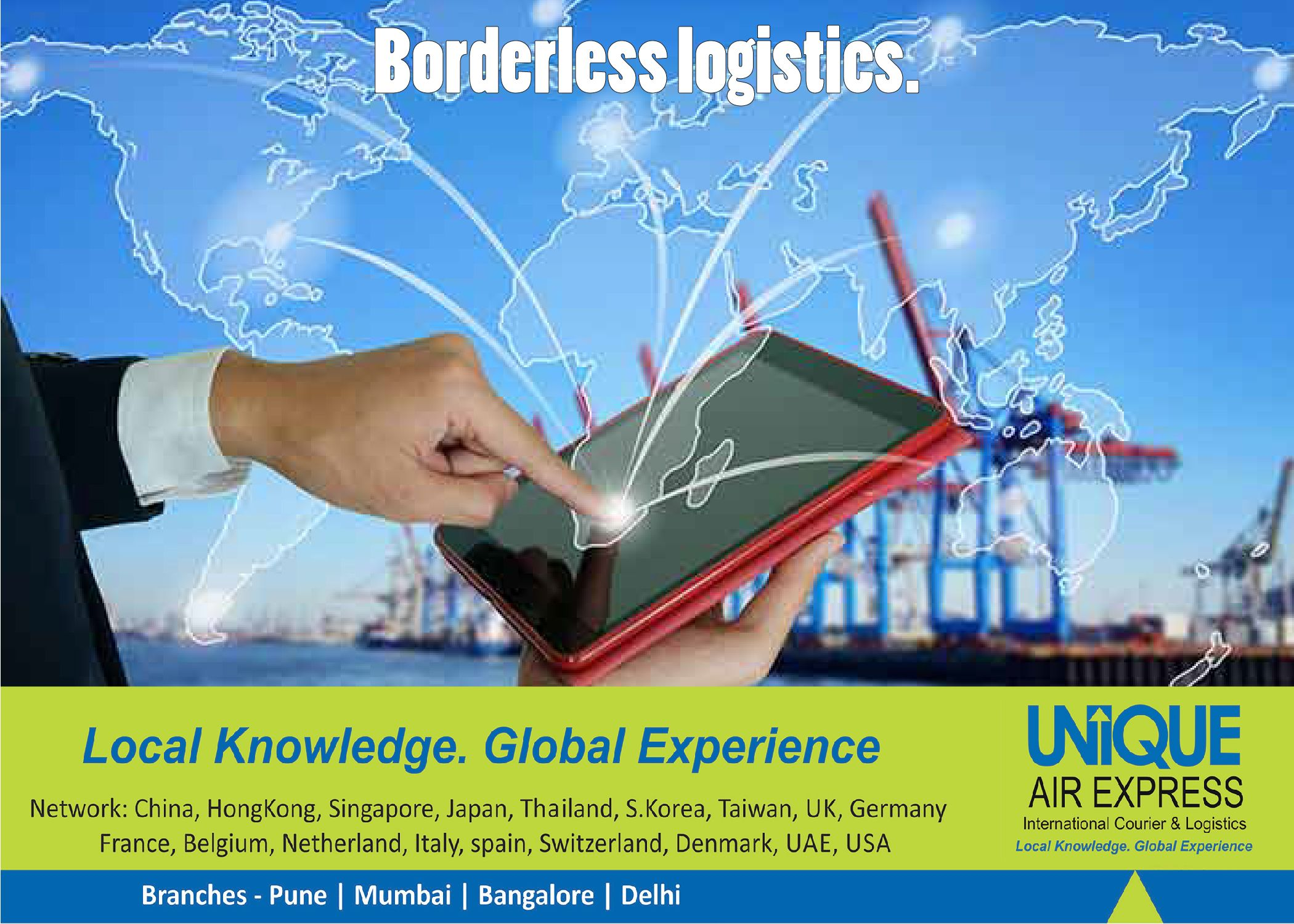 Track Your Consignment on One Click! Borderless Logistics
