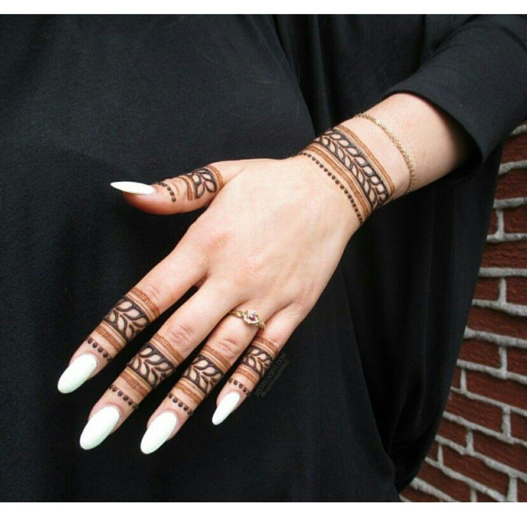 Finger Henna Designs, Mehndi Designs For