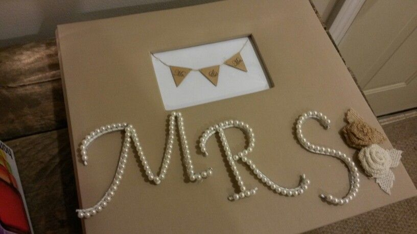 Bridal Shower Guest Book. Create a scrapbook of the happy couple and leave blank pages spaces for guests to sign or write a message ♥