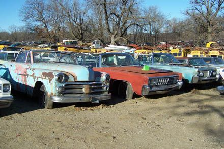 Old Car Salvage Yards Winter Salvage Yarding Old Cars Weekly