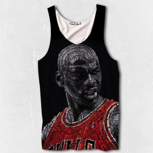 76a1c584710a BRAND NEW MENS Micheal Jordan Air Jordan Chicago Bulls Tank Top -  Sublimated Print Basketball on Etsy