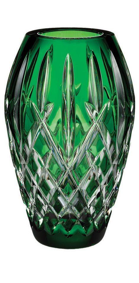 Designer Emerald Color Of 2013 Green Art Glass Vase Sharing