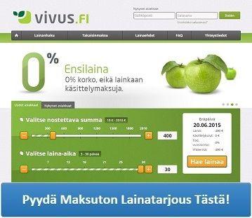 http://www.pienlainat.fi/kuluttomat-lainat/ - Vivus - Hae lainaa tästä!