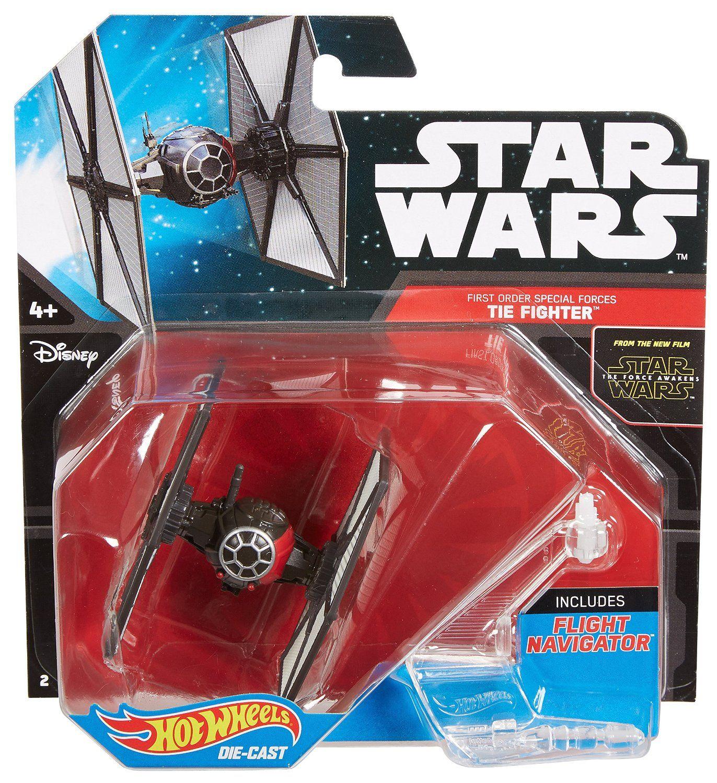 Hot Wheels Star Wars Starship First Order Special Forces Tie Fighter In 2020 Tie Fighter Hot Wheels Hot Wheels Toys