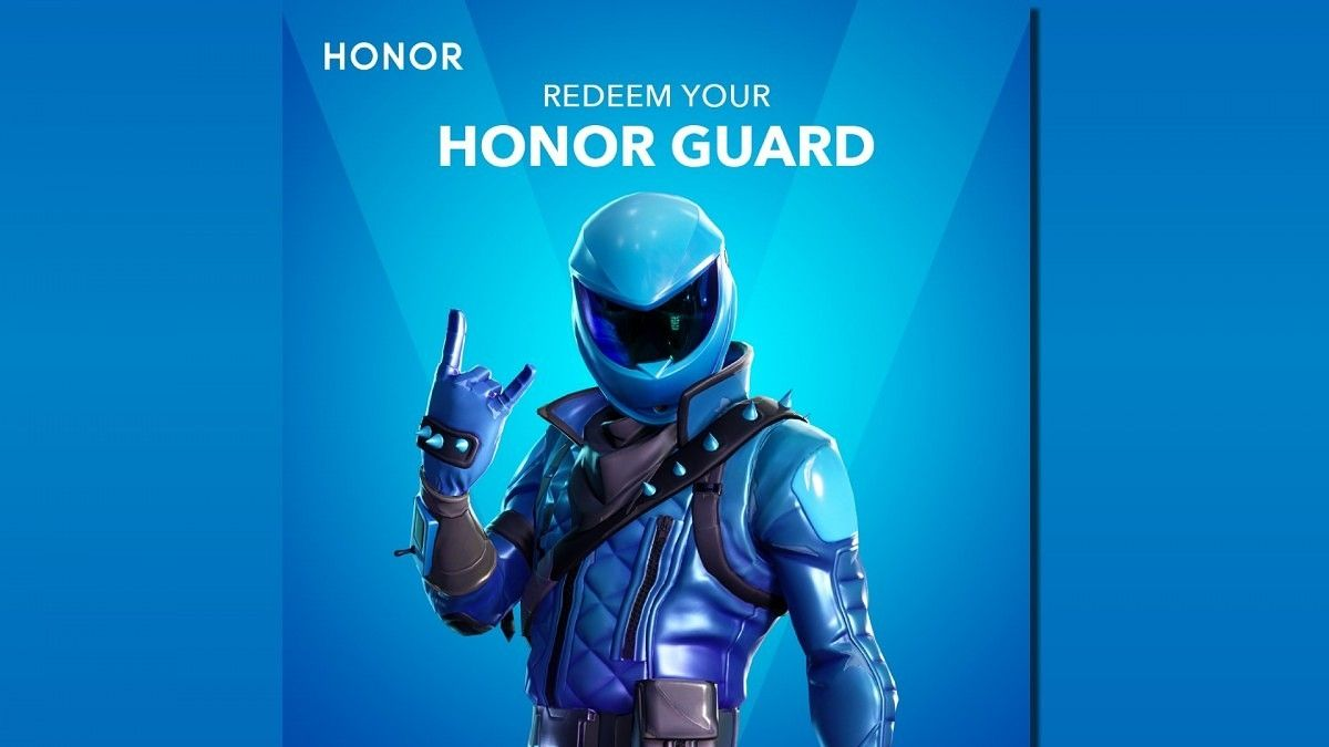 Skin Fortnite Honor 10 Honor View20 Owners Get Exclusive Fortnite Skin Di 2020