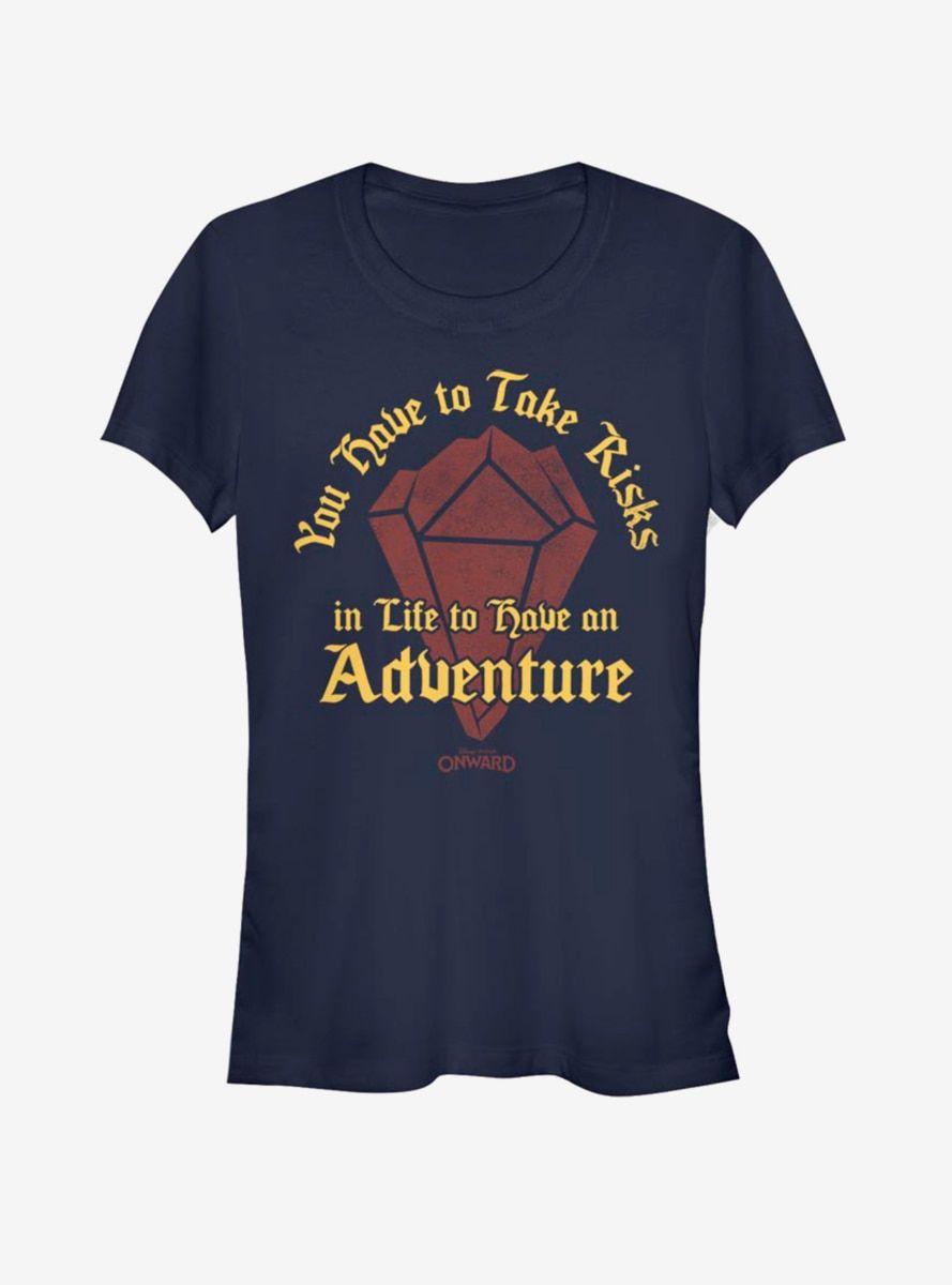 Disney Pixar Onward Risk for Adventure Girls T-Shirt
