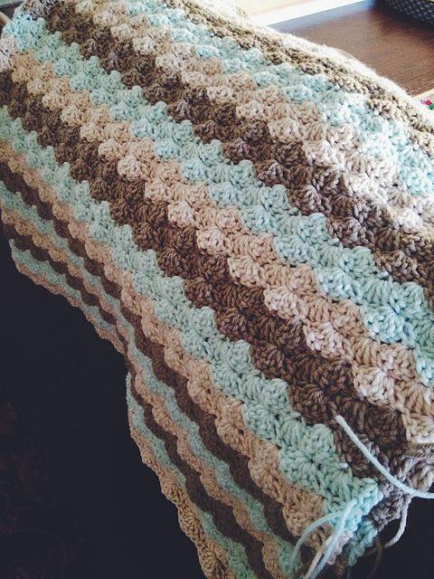 Cozy Shells Stitch Baby Blanket - Free Crochet Pattern ...