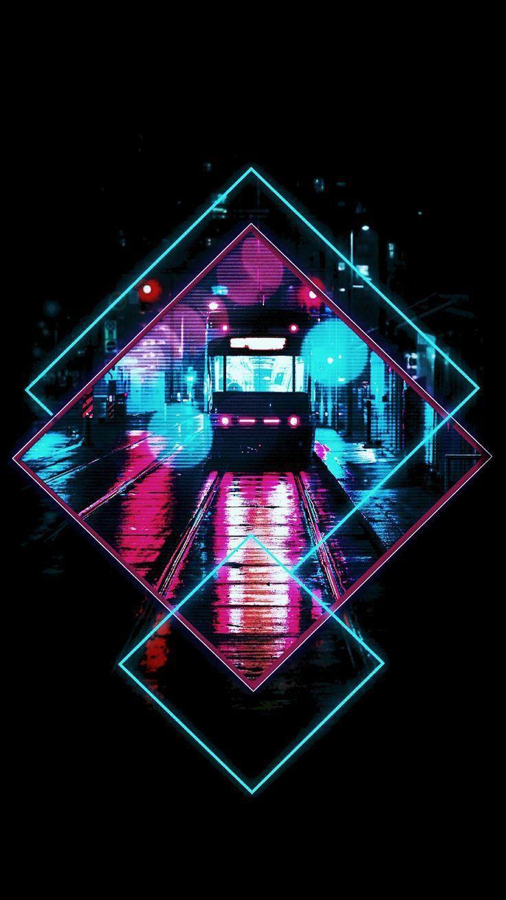 Let's check it Neon wallpaper, Art wallpaper