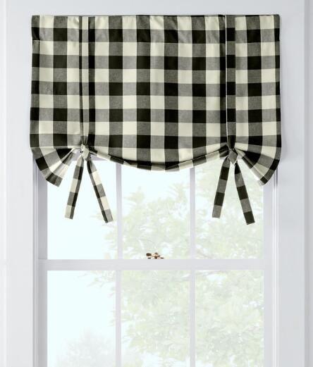 Farmhouse White Window Treatments