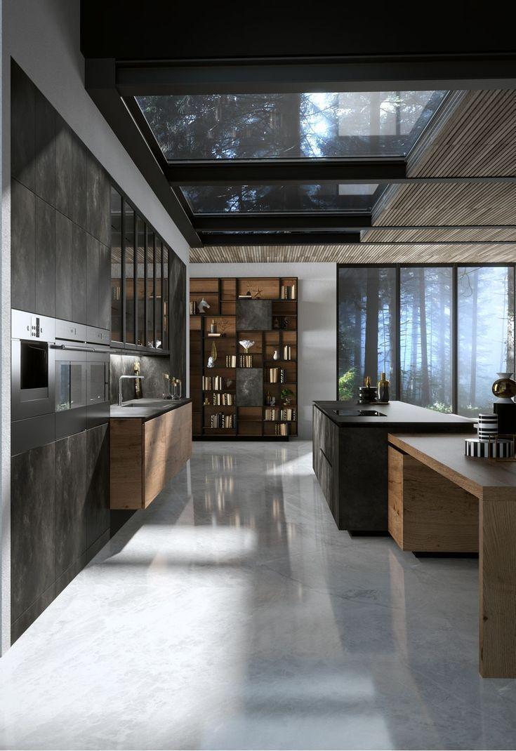 Diseño de interior  inspiraciónes para cocina. En estas ideas y inspiracíones puedes tener ideas para cambar o decorar tú cocina #greykitcheninterior