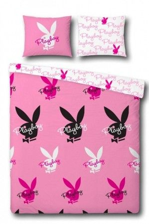 playboy bettw sche bunny allover bergr e 155x220 80x80. Black Bedroom Furniture Sets. Home Design Ideas