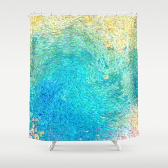 Artistic Shower Curtain Coral Reef Shower By Artfullyfeathered