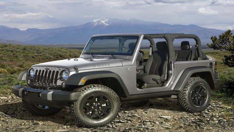Build your own 2017 Jeep Wrangler Willys Wheeler 2014