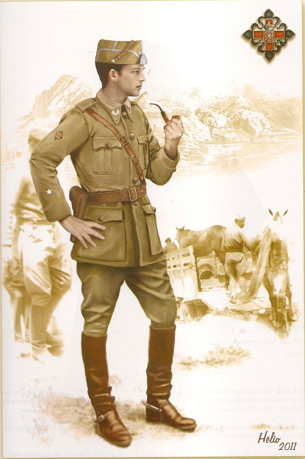 Veterinary Officer 1936 | Military history, World war i ...