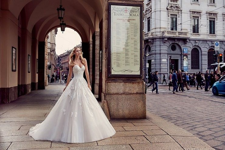 Eddy K Milano Style MD217 - Tulle, Sleeveless, Ball Gown wedding dress | itakeyou.co.uk #weddingdress #wedding #weddingdresses #weddinggown #bridalgown #bridaldress #weddinggowns #engaged