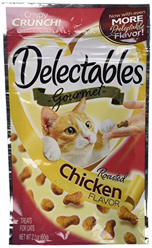 Hartz Delectables Cat Treats Roasted Chicken To View Further For This Item Visit The Image Link This I Roast Chicken Flavours Gourmet Chicken Seared Tuna