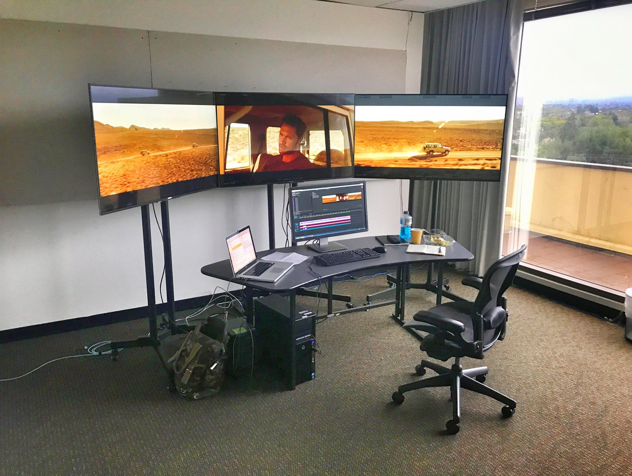 My Home 24 Feature Film Edit Bay | Film Editing, Home, 24 Hours To Live