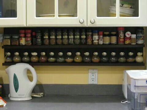 Under Cabinet Spice Rack Diy Projects Spice Rack Diy House