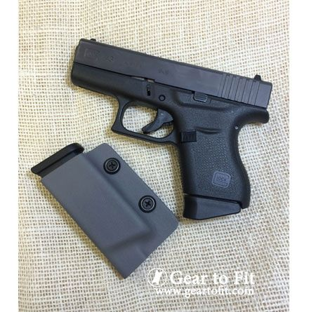 Glock Magazine Holder Pocket mag holder for a Glock 41 Be ready with Gear to Fit your 38