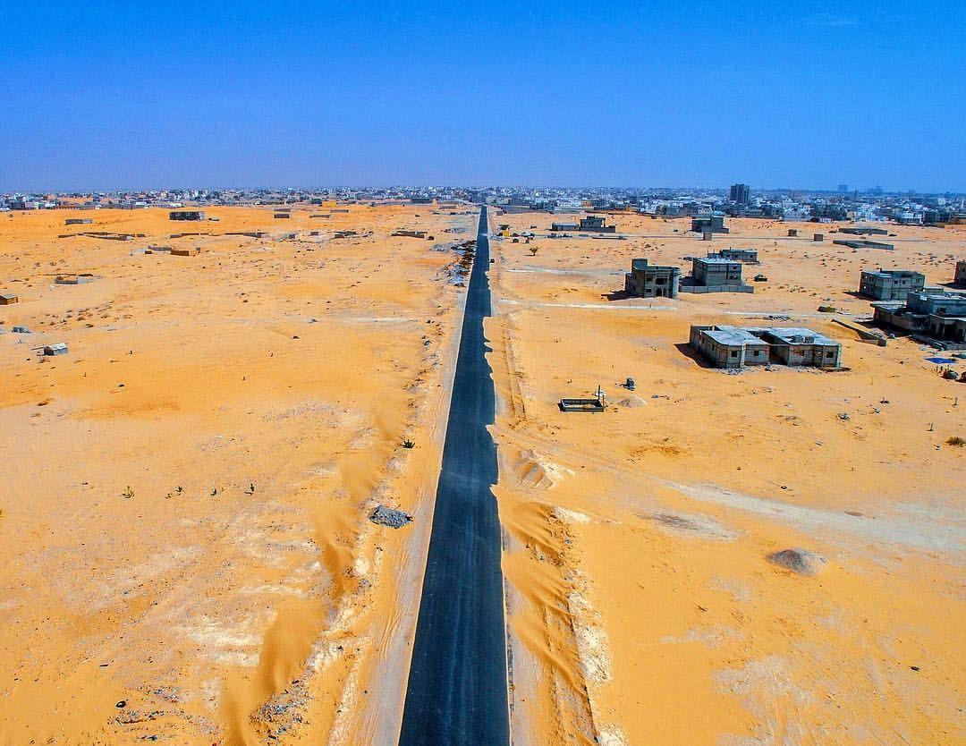 Soukouk Vue Du Ciel Nouakchott Mauritania Dji Phantom Drone Desert Everydaynouakchott Everydayafrica Everyday Nouakchott Mauritania Country Roads