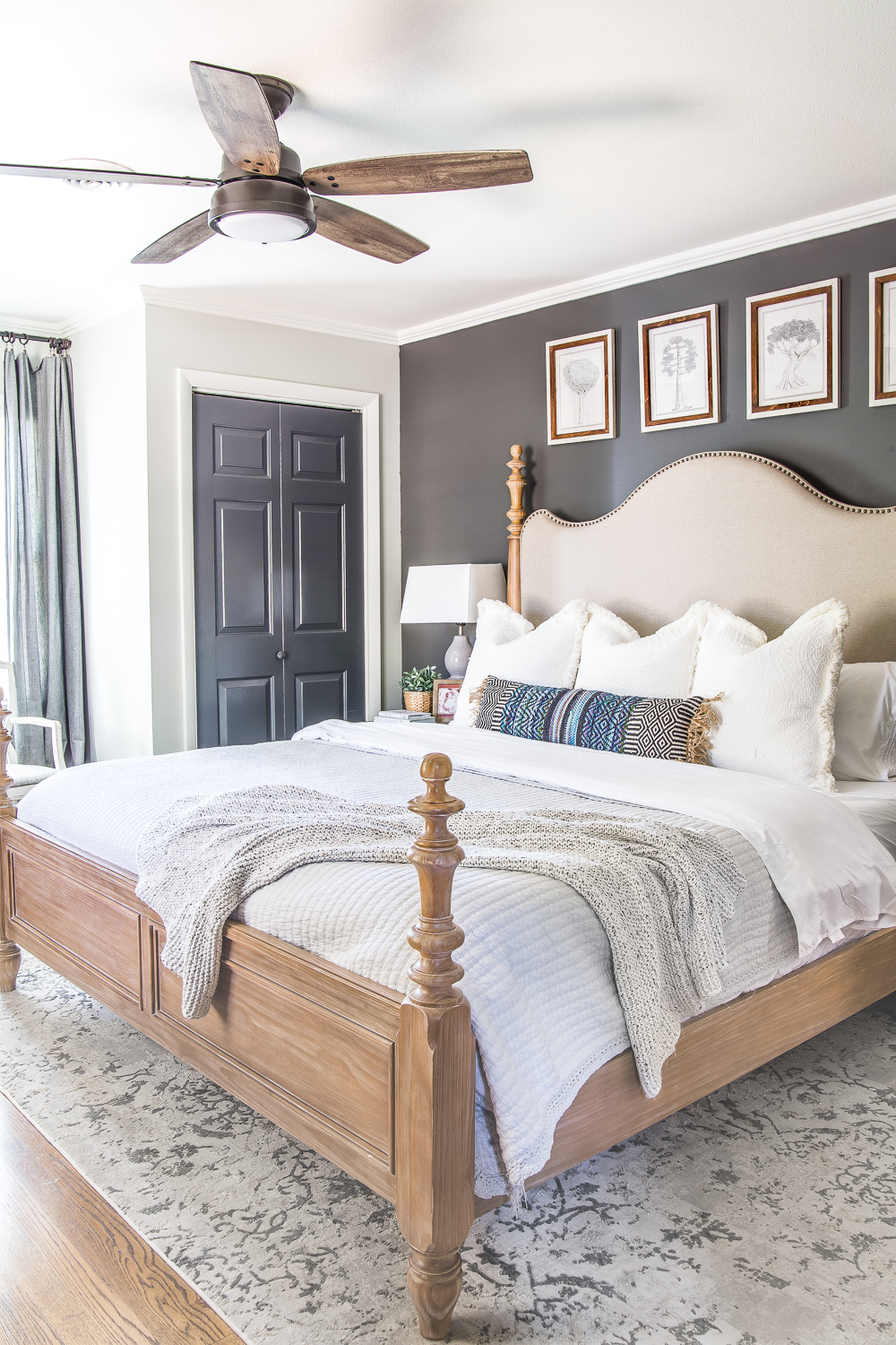 20 Gorgeous Modern Ceiling Fans | Rustic master bedroom ...