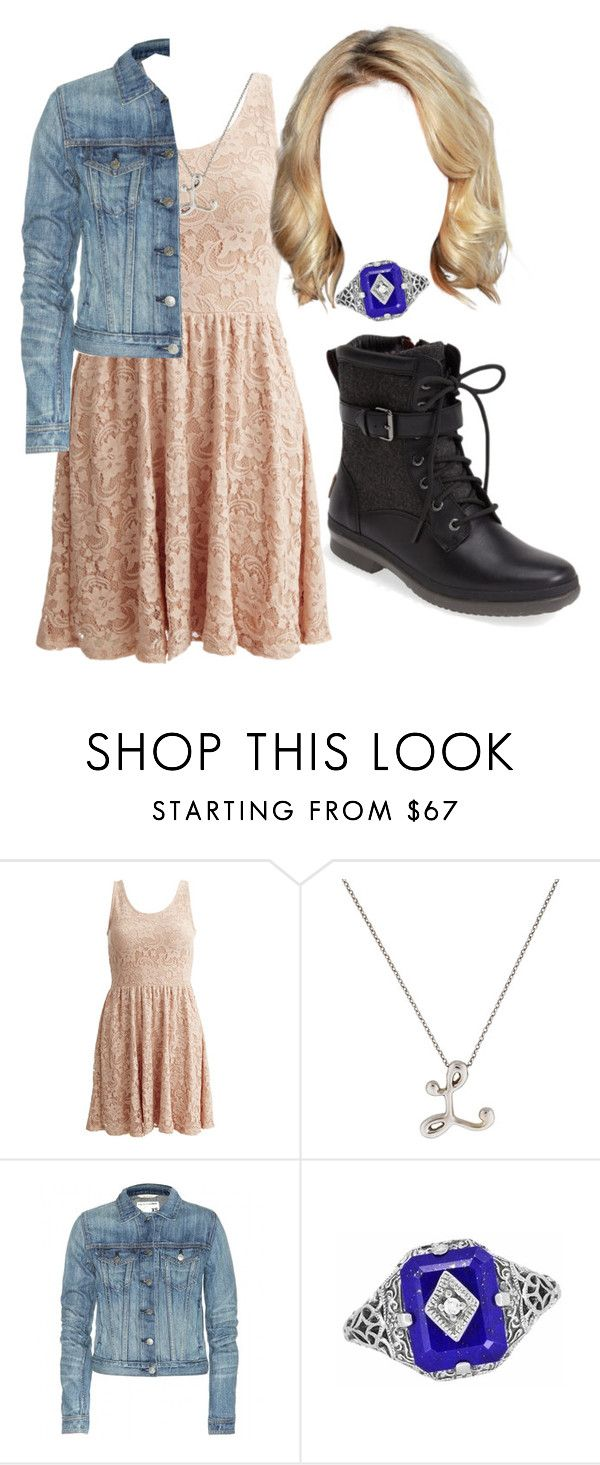"""""""The Vampire Diaries: Lydia Forbes"""" by grandmasfood ❤ liked on Polyvore featuring VILA, rag & bone, Lazuli and UGG Australia"""